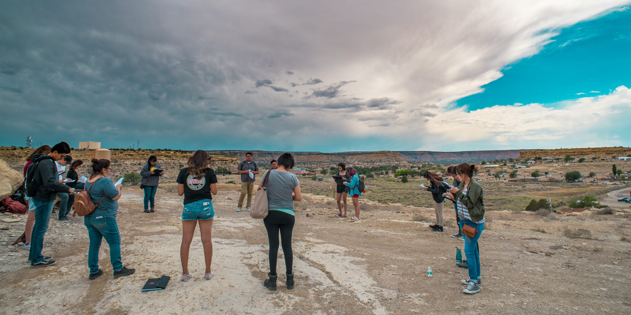 <span style='font-size: 1.7em;'>Emerging Diné Writers' Institute</span>